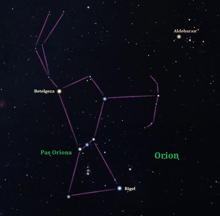 Orion, gwiazdozbiór