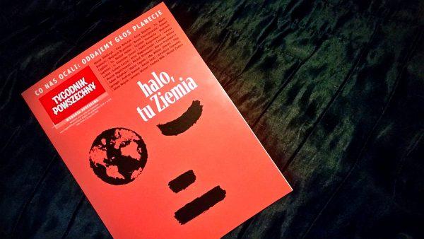 """Koniec ery człowieka - spotkanie z okazji wydania """"Halo, tu Ziemia"""""""